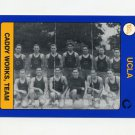 1991 UCLA Collegiate Collection #129 A Caddy Works Team - UCLA Bruins