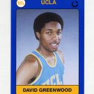 1991 UCLA Collegiate Collection #107 David Greenwood - UCLA Bruins