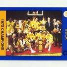 1991 UCLA Collegiate Collection #084 1972 Champs - UCLA Bruins