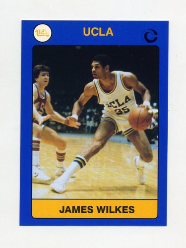 1991 UCLA Collegiate Collection #013 James Wilkes - UCLA Bruins