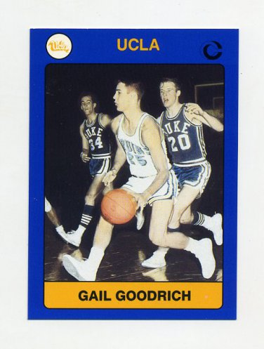 1991 UCLA Collegiate Collection #008 Gail Goodrich - UCLA Bruins