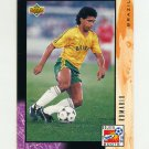 1994 Upper Deck World Cup Contenders English/Spanish Soccer #326 Romario - Brazil