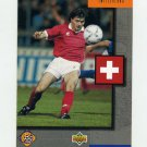 1994 Upper Deck World Cup Contenders English/Spanish Soccer #315 Switzerland