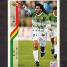 1994 Upper Deck World Cup Contenders English/Spanish Soccer #214 Marco Etcheverry - Bolivia