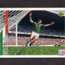 1994 Upper Deck World Cup Contenders English/Spanish Soccer #209 John Aldridge - Ireland