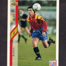 1994 Upper Deck World Cup Contenders English/Spanish Soccer #193 Alkorta - Spain