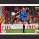 1994 Upper Deck World Cup Contenders English/Spanish Soccer #184 Albert Ferrer - Spain
