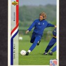 1994 Upper Deck World Cup Contenders English/Spanish Soccer #168 Johnny De Wolf - Holland