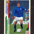 1994 Upper Deck World Cup Contenders English/Spanish Soccer #149 Franco Baresi - Italy