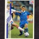 1994 Upper Deck World Cup Contenders English/Spanish Soccer #146 Nikos Noblias - Greece
