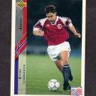 1994 Upper Deck World Cup Contenders English/Spanish Soccer #122 Oyvind Leonhardsen - Norway