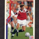 1994 Upper Deck World Cup Contenders English/Spanish Soccer #121 Lars Bohinen - Norway