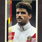 1994 Upper Deck World Cup Contenders English/Spanish Soccer #104 Phillipe Albert - Belgium