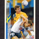 1994 Upper Deck World Cup Contenders English/Spanish Soccer #087 Patrick Andersson - Sweden