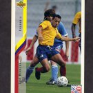 1994 Upper Deck World Cup Contenders English/Spanish Soccer #064 Luis Herrera - Colombia