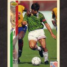 1994 Upper Deck World Cup Contenders English/Spanish Soccer #038 Miguel Espana - Mexico
