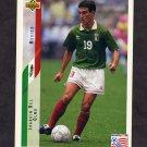 1994 Upper Deck World Cup Contenders English/Spanish Soccer #029 Joaquin Del Olmo - Mexico