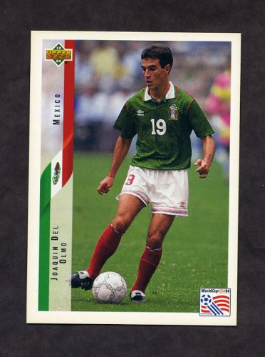 1994 Upper Deck World Cup Contenders English/Spanish Soccer #029 Joaquin Del Olmo - Mexico