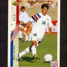 1994 Upper Deck World Cup Contenders English/Spanish Soccer #026 Mike Sorber - U.S.A.