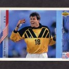 1994 Upper Deck World Cup Contenders English/Spanish Soccer #016 Brad Friedel - U.S.A.