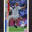 1994 Upper Deck World Cup Contenders English/Spanish Soccer #015 Cle Kooiman - U.S.A.