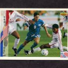 1994 Upper Deck World Cup Contenders English/Spanish Soccer #009 Tab Ramos - U.S.A.
