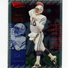 2000 Ultimate Victory Football #038 Peyton Manning - Indianapolis Colts
