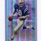 2000 Fleer Showcase Football #094 Peyton Manning - Indianapolis Colts