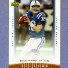 2006 Upper Deck Legends Football #098 Peyton Manning - Indianapolis Colts