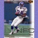 2000 Upper Deck Pros and Prospects Football #045 Randy Moss - Minnesota Vikings