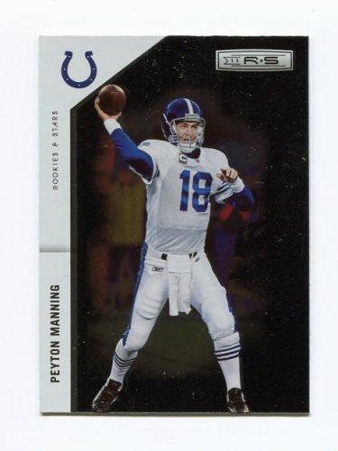2011 Rookies and Stars Longevity Football #066 Peyton Manning - Indianapolis Colts