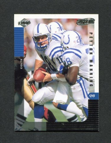 1999 Collector's Edge Supreme Football #053 Peyton Manning - Indianapolis Colts