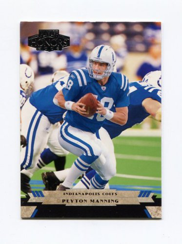 2005 Playoff Honors Football #045 Peyton Manning - Indianapolis Colts