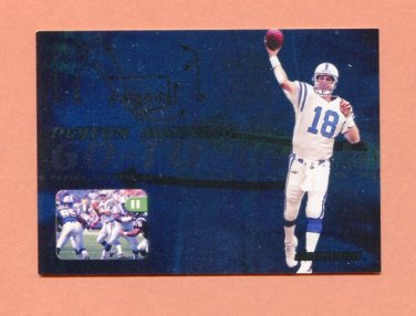2000 Skybox Dominion Football Go-To Guys #01 Peyton Manning - Indianapolis Colts