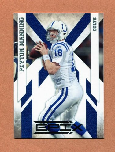2010 Epix Football #043 Peyton Manning - Indianapolis Colts