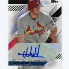 2014 Topps Mini Baseball Autographs #MAMA Matt Adams - St. Louis Cardinals AUTO