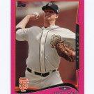 2014 Topps Mini Pink Baseball #347 Matt Cain - San Francisco Giants Serial #05/25