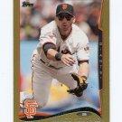 2014 Topps Mini Gold Baseball #423 Marco Scutaro - San Francisco Giants Serial #50/63