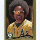 2014 Topps Mini Gold Baseball #008 Coco Crisp - Oakland Athletics Serial #26/63