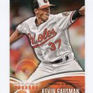 2014 Topps Mini The Future Is Now Baseball #FN31 Kevin Gausman - Baltimore Orioles