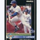 1992 Pinnacle Baseball #562 Pat Listach RC - Milwaukee Brewers