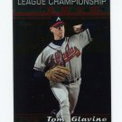 2000 Topps Baseball #226 Tom Glavine LCS - Atlanta Braves ExMt