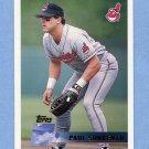 1996 Topps Baseball #373 Paul Sorrento - Cleveland Indians