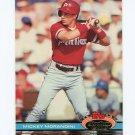 1991 Stadium Club Baseball #535 Mickey Morandini - Philadelphia Phillies