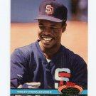 1991 Stadium Club Baseball #515 Tony Fernandez - San Diego Padres