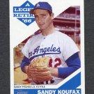 2015 Topps Heritage A Legend Retires #SK10 Sandy Koufax - Los Angeles Dodgers