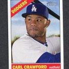 2015 Topps Heritage Baseball #330 Carl Crawford - Los Angeles Dodgers