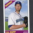 2015 Topps Heritage Baseball #294 J.A. Happ - Seattle Mariners