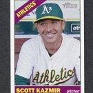 2015 Topps Heritage Baseball #082 Scott Kazmir - Oakland Athletics