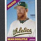 2015 Topps Heritage Baseball #036A Sean Doolittle - Oakland Athletics